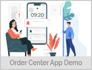 Driver App Login - Drivers can View Orders, Get Directions, Navigate and Mark Order as Delivered - 5