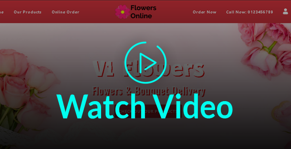 Flowers Florists Floristry Online Bouquet Ordering System (iOs + Android + Onwer App + Web + Admin) - 7