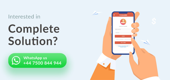 Book Cleaners Online Cleaning Services Search Cleaner Booking System (User App + Cleaner App + Admin - 8
