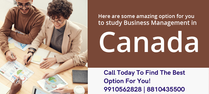 Management/Business Administration opportunities in Canada 2021