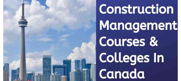 Construction project management Canada