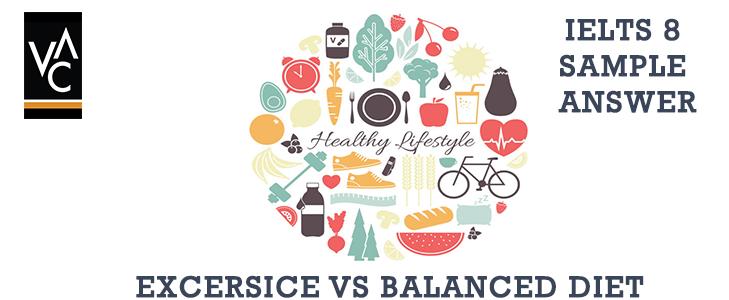 Health VS Balanced Diet