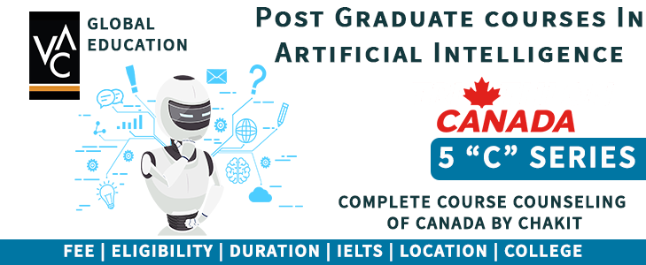 Artificial Intelligence courses in Canada