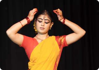 Classical Dance Makeup Look