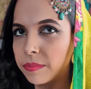 Muslim Bridal Look