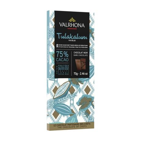 valrhona.com-Tableta puro origen Tulakalum 75%