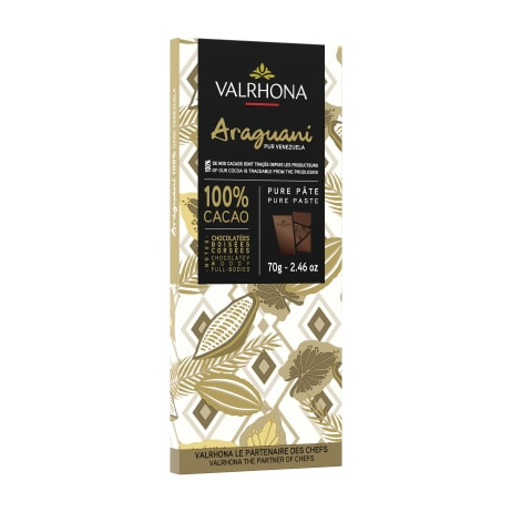 valrhona.com-Tableta puro origen Araguani 100%