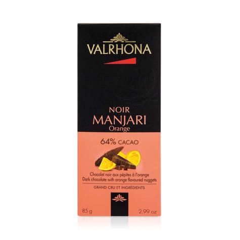 chocolat Manjari orange valrhona