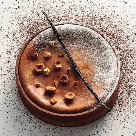 Praliné & Vanilla Custard Tart