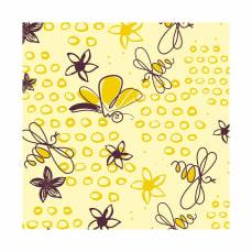 Transfert papillons et abeilles