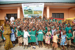 Valrhona Supporting education in Ghana
