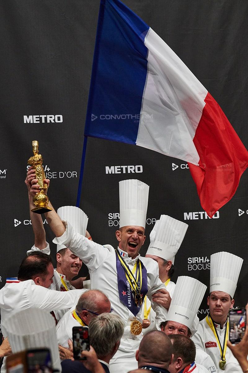 Victoire de la France Boccuse d'or