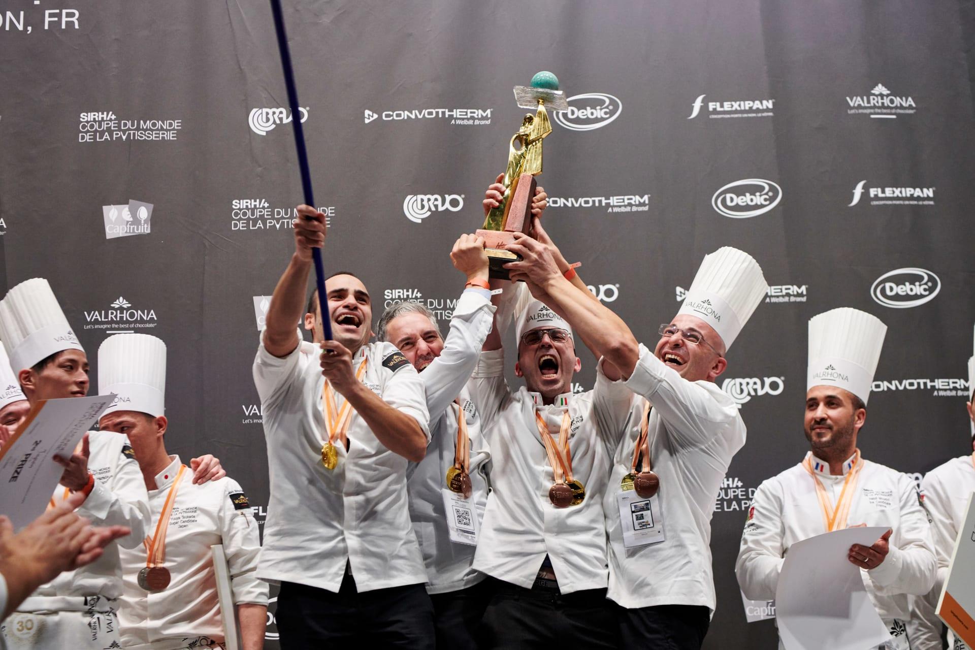 Coupe du Monde de la Pâtisserie, victoire de l'italie