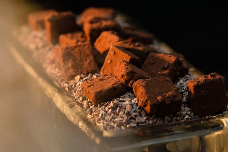 Enrobage chocolat truffes