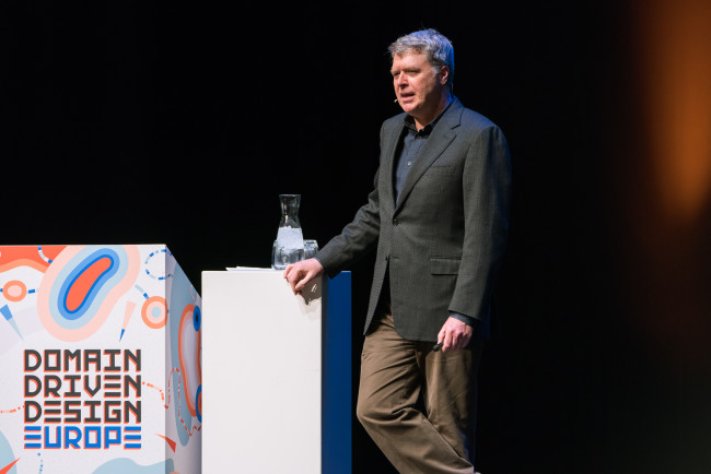 Eric Evans at Domain-Driven Design Europe