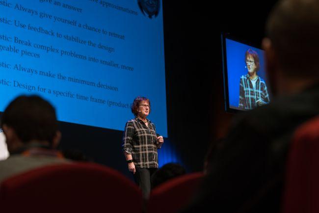 Rebecca Wirfs-Brock at Domain–Driven Design Europe 2017
