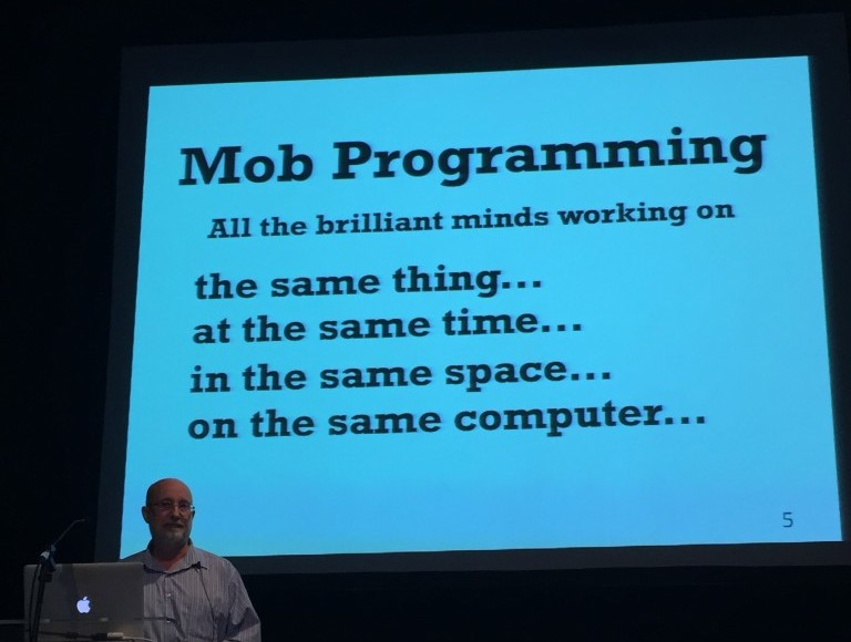 Woody Zuill Mob Programming