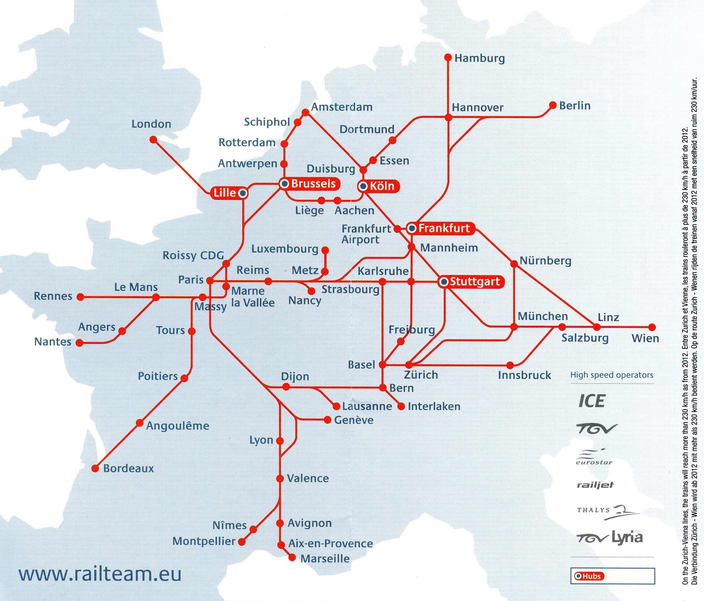 Brussels International Trains