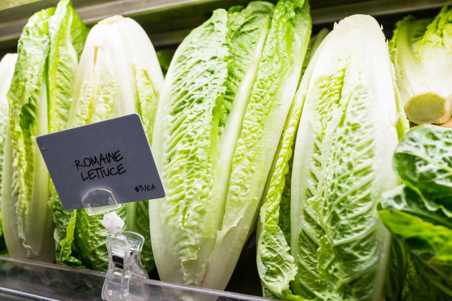 Food such as romaine lettuce isn't being inspected