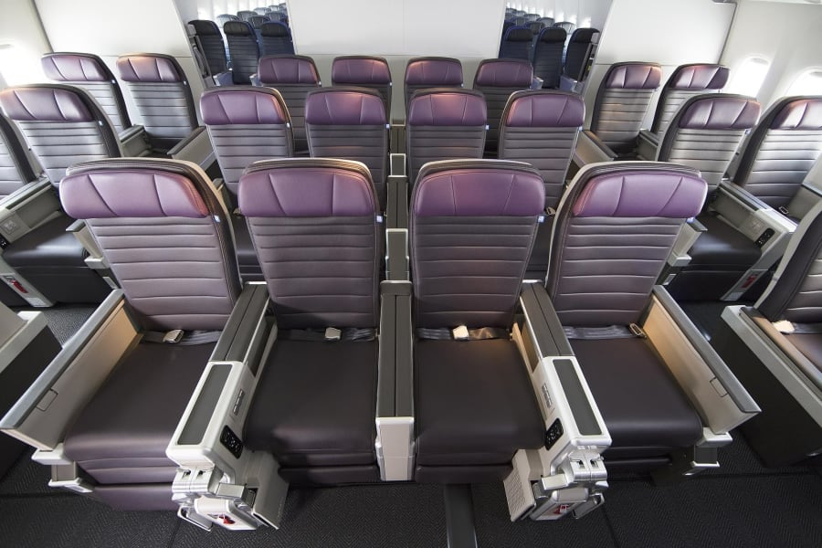 A look at United's Premium Plus seats