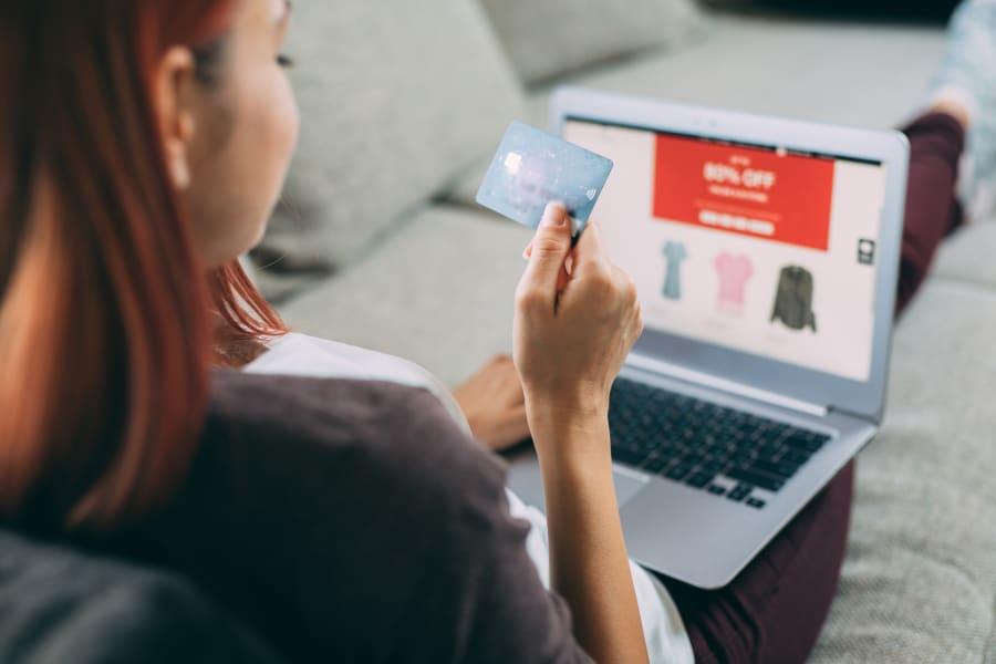 An online shopper