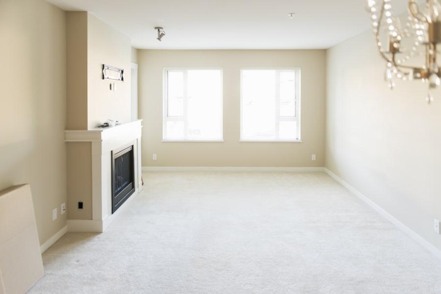 An empty family room