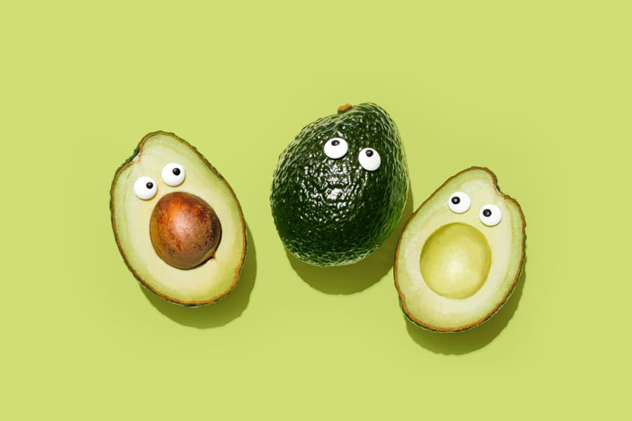 These avocados are also surprised