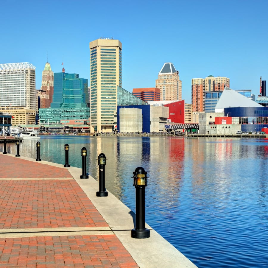 Baltimore is one of the cities that will pay you to move there