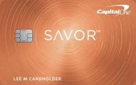 Capital One® Savor® Cash Rewards Credit Card Image