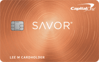 Capital One® Savor® Cash Rewards Credit Card Image