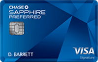 Chase Sapphire Preferred® Card Image
