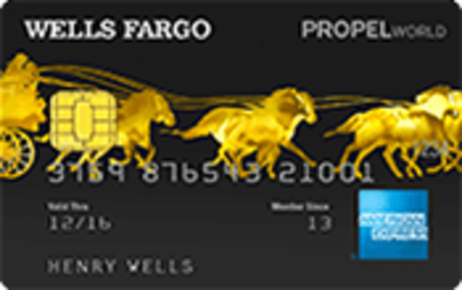 Wells Fargo Propel World Credit Card - 3x Points for Airfare