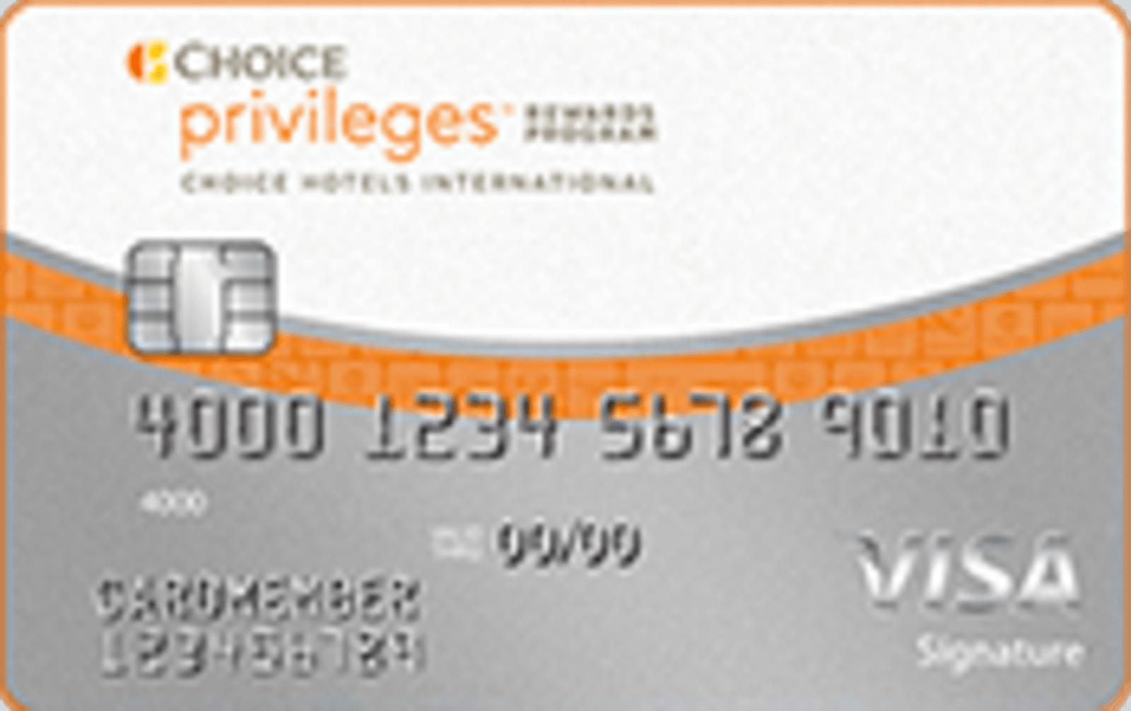 The Choice Privileges® Visa® Card