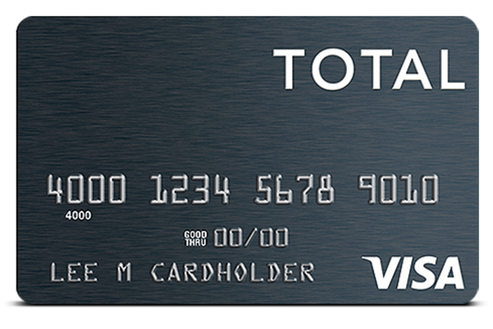 total visa unsecured credit card review consider other