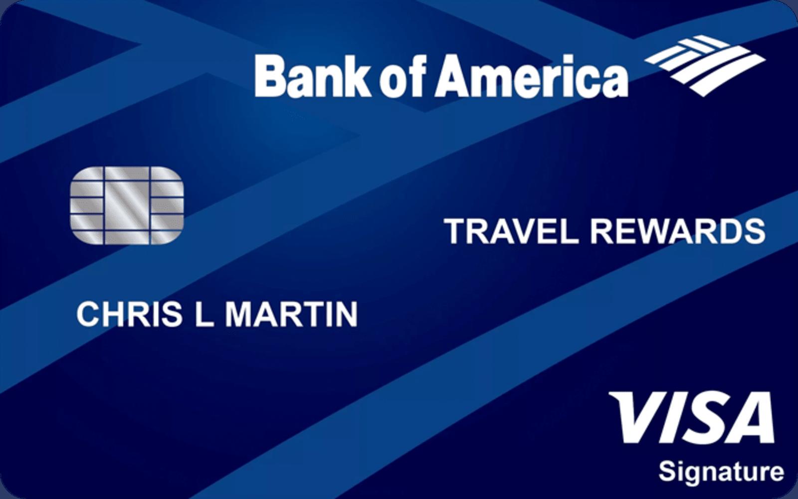 BankAmericard Travel Rewards® for Students