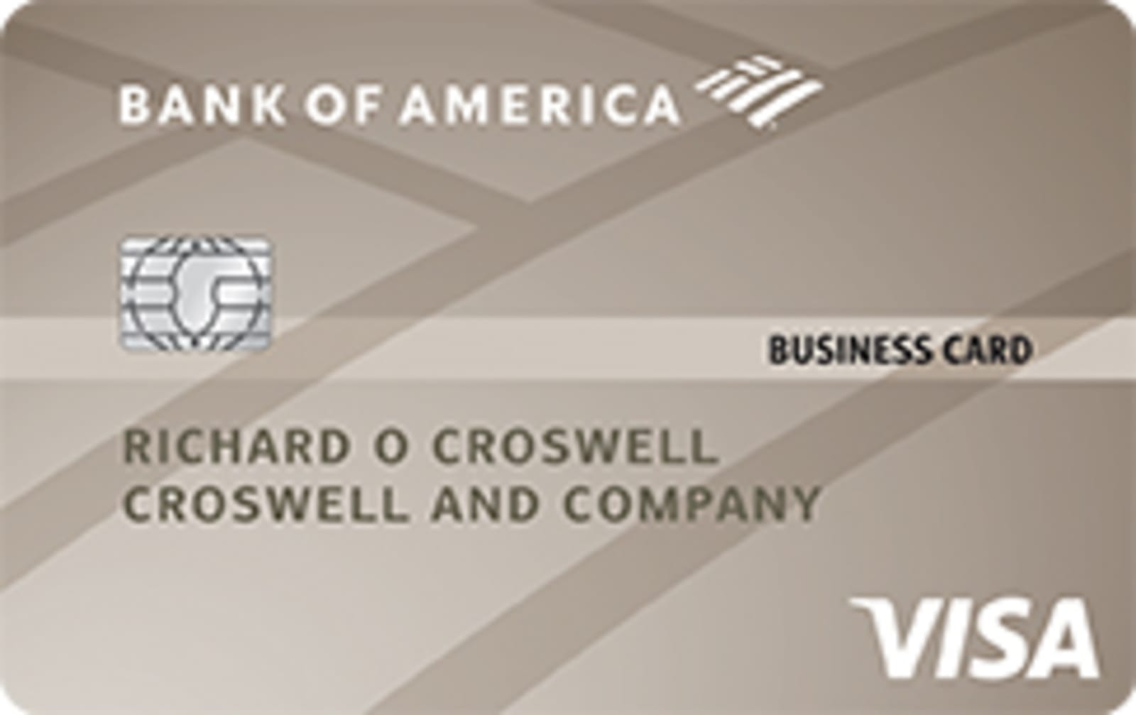 Bank of America® Platinum Visa® Business credit card