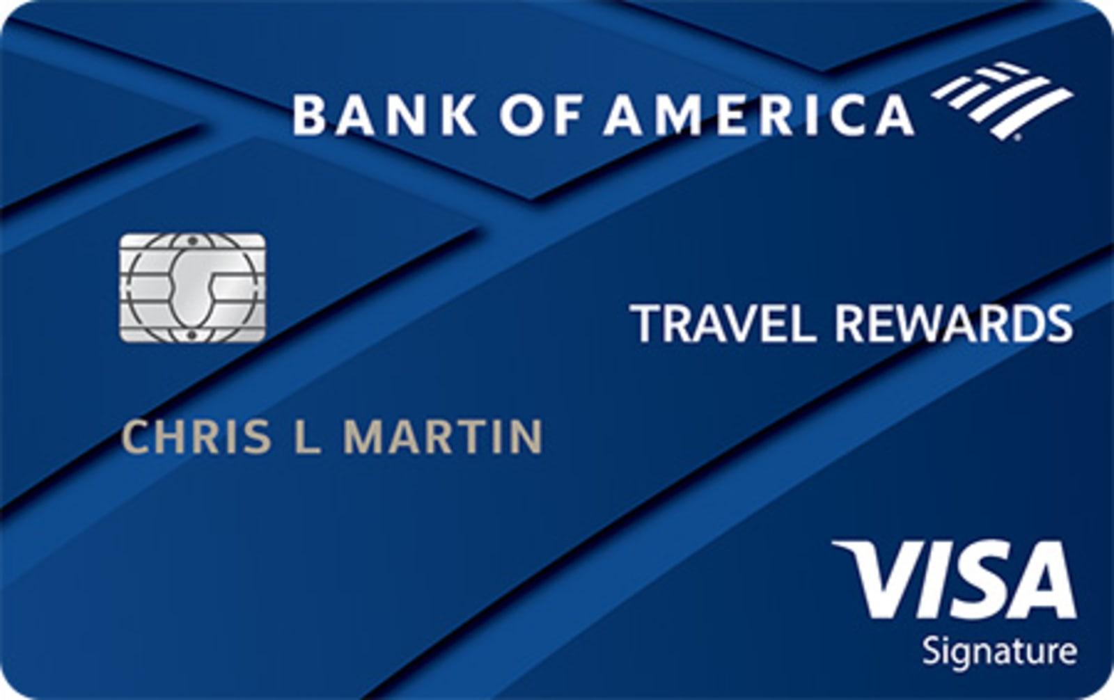bank of america credit card usage abroad