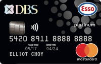 DBS Esso Platinum Card