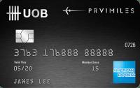 UOB PRVI Miles American Express Card