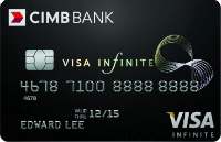 CIMB Visa Infinite Card
