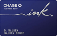 Chase Ink® Bold Business Charge Card