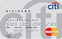 Citi® Dividends Platinum Select® Visa® Card