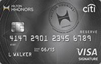 Citi hilton hhonors reserve a great hilton card focusing on bonuses citi hilton hhonors reserve card colourmoves