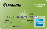 Fidelity® Investment Rewards® American Express®