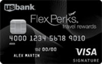 US Bank FlexPerks® Travel Rewards Visa Signature® Card