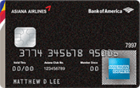 Asiana Airlines Credit Card