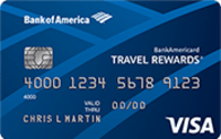 BankAmericard Travel Rewards® for Students