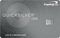 Capital One® QuicksilverOne® Credit Card