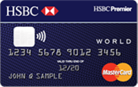 HSBC Premier World Mastercard® credit card
