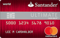 Santander® Ultimate Cash Back credit card